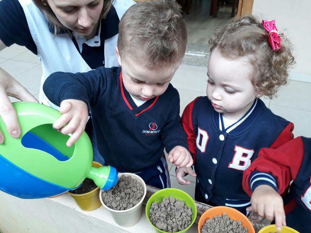 Brincando e aprendendo com a natureza