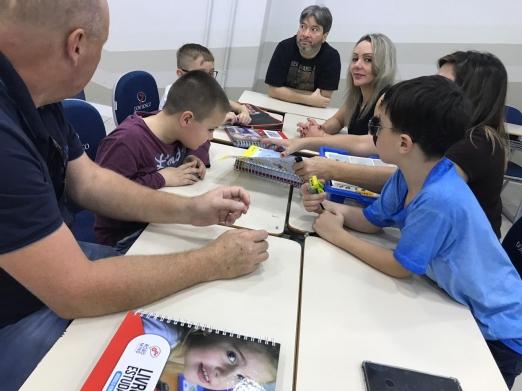 Dia da família ROBOMIND no COLÉGIO SALESIANO DOM BOSCO
